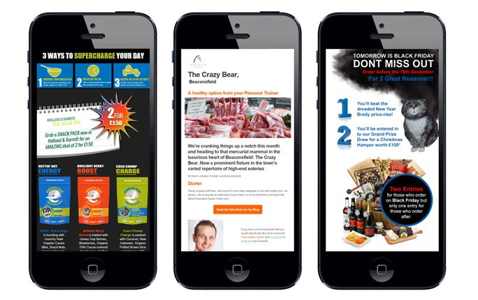Email Marketing Strategy   Mailshots on iphone