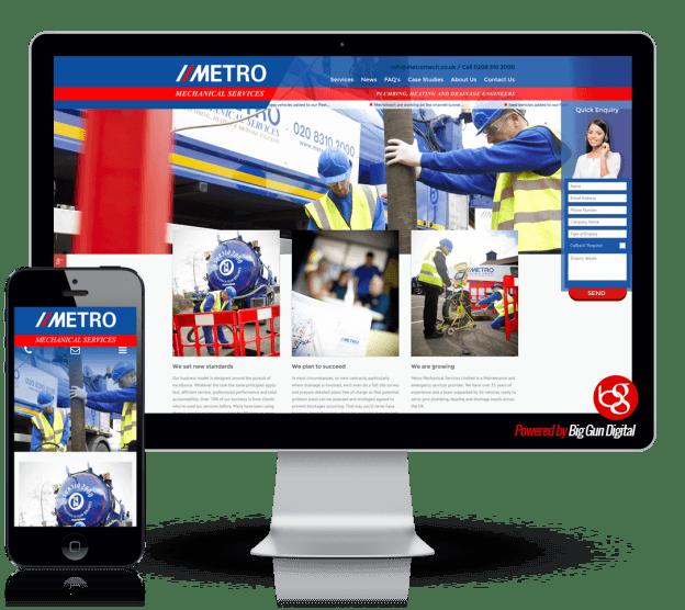 we-built-metromech-website