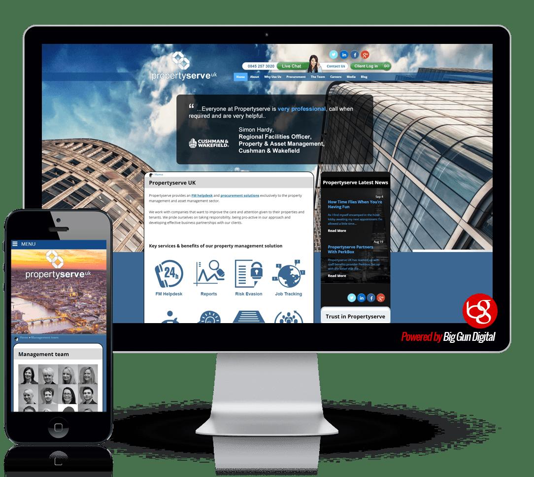 we-built-propertyserve-uk-website