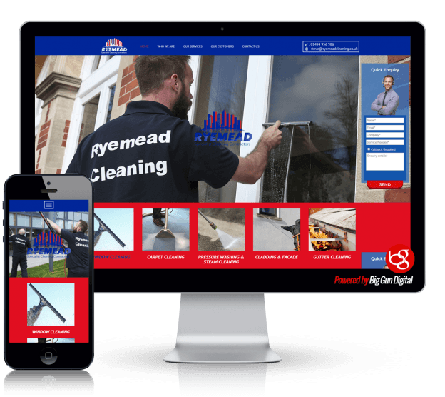 we-built-ryemead-cleaning-website